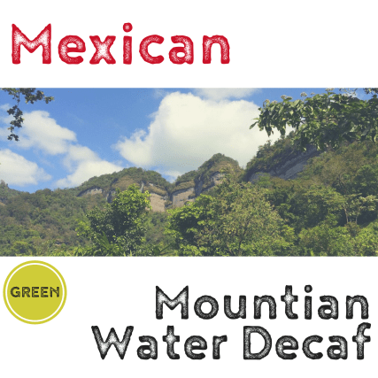 Mexican Mountain Water RFA Organic De-Caf (green)-0